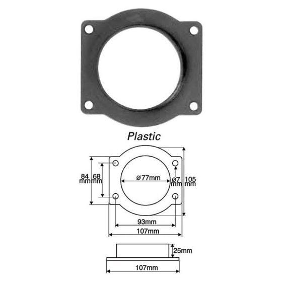 Green Filters Airflow Meter Adaptor – Option 10