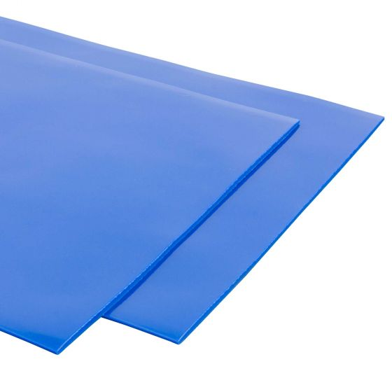 Grayston 4mm Thick Mudflaps – Pair In Blue, Blue