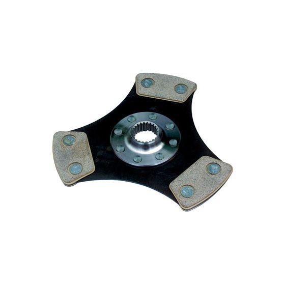 """Helix 7.25"""" Cerametallic 3 Paddle Rigid Drive Plate – 24.3mm x 22"""