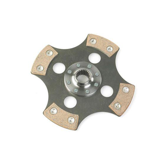 Helix 7.6 Inch Cerametallic 4 Paddle Sprung Plate – 200mm Diameter, 20.4mm x 24T Spline, Road