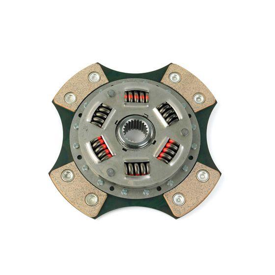 Helix 7.6 Inch Cerametallic 4 Paddle Sprung Plate – 200mm Diameter, 19mm x 14T Spline, Race/Rally