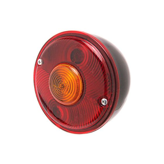 Demon Tweeks Stop Tail And Indicator Lights – 140mm Diameter – Bullseye Design