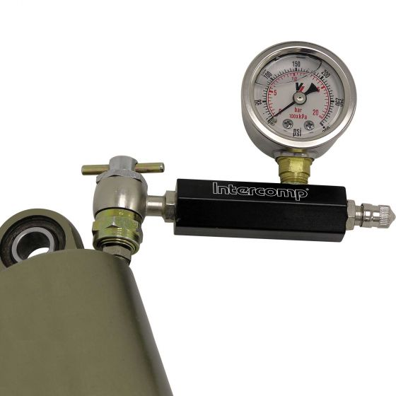 Intercomp Analogue Damper Pressure Gauge