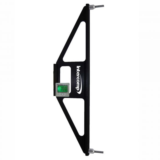 Intercomp Caster Camber Gauge Wheel Adaptor – With Digital Angle Gauge