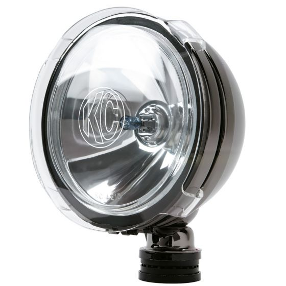 "KC Hilites Light Covers & Stone Guards – 6"" Rnd – Clear"