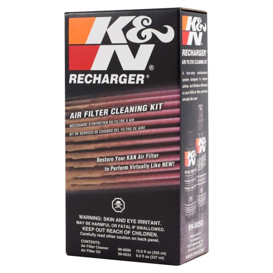 K&N Filters Complete Filter Service Kit – Squeeze