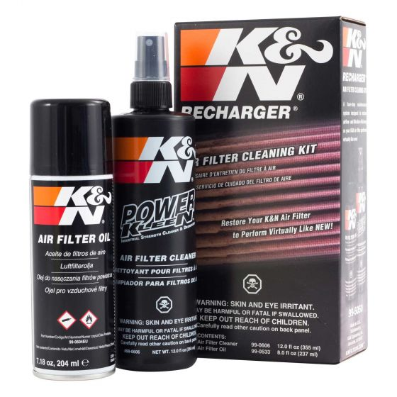 K&N Filters Complete Filter Service Kit – Aerosol