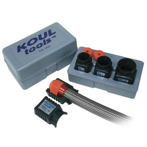 Koul Tools Braided Hose Assembly Kit – Fits -4, -6 & -8 Hose