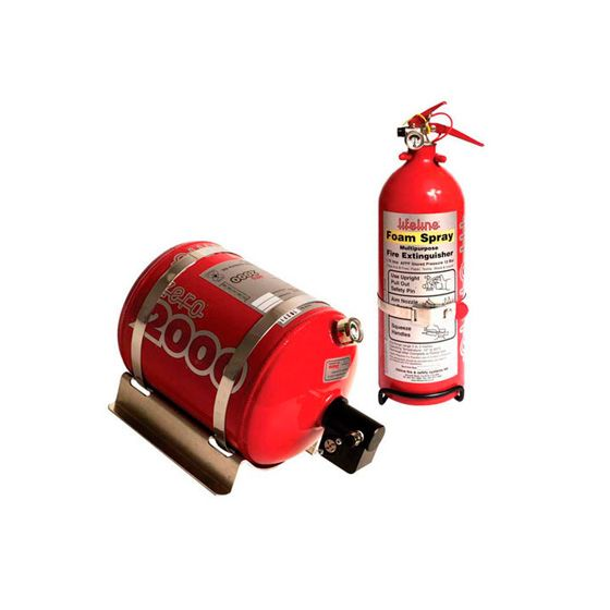Lifeline Fire Marshal Electrical Fire Extinguisher 4.0 Ltr Rally Package