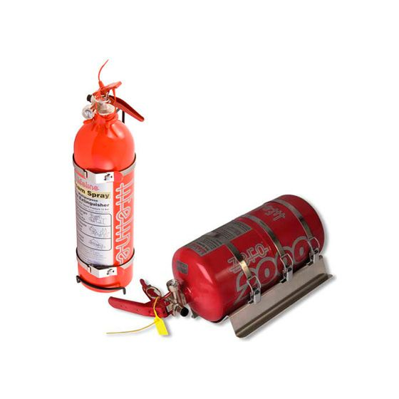 Lifeline Fire Marshal Mechanical Fire Extinguisher 4.0 Ltr Rally Package