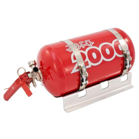 Lifeline Fire Marshal Mechanical 4.0 Ltr Aluminium Bottle Fire Extinguisher Kit