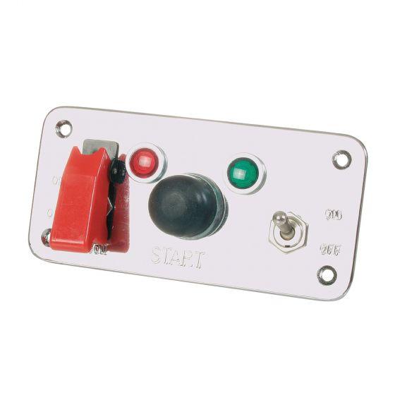 LMA Ignition Switch Panel – 5 Hole Switch Panel