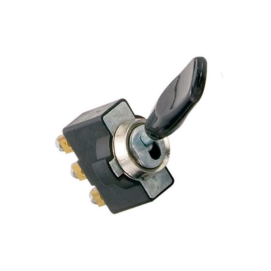 LMA Heavy Duty Plastic Toggle Switches – On Off Screw Terminal