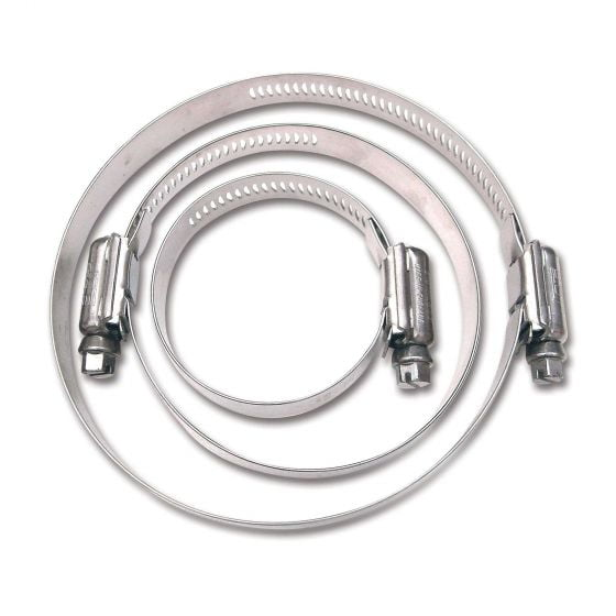 LMA Stainless Steel Worm Drive Hose Clip – 80-100mm Pack Of 10