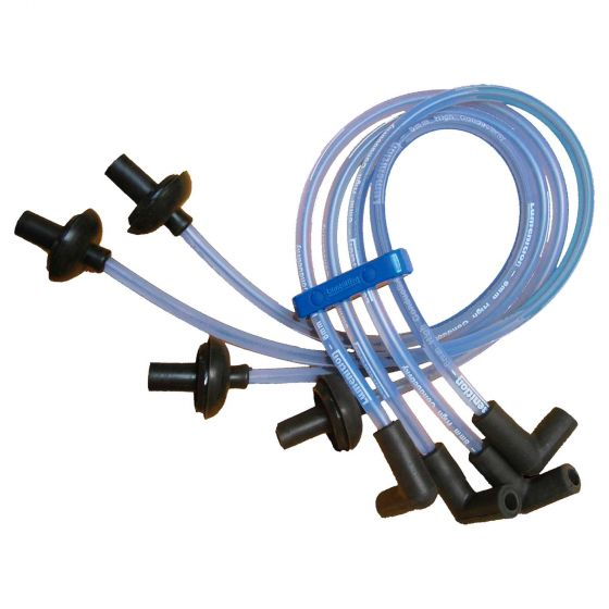"""Lumenition Universal Coil Lead – Individual Lead – 12"""" Length, Blue"""