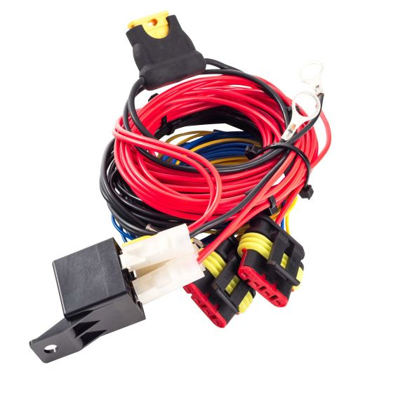 Lazer Lamps Wiring Harness – For 4 x ST / T-2 / Triple-R 750 / Triple-R 1000 lamp With PDM &LED Switch Panel