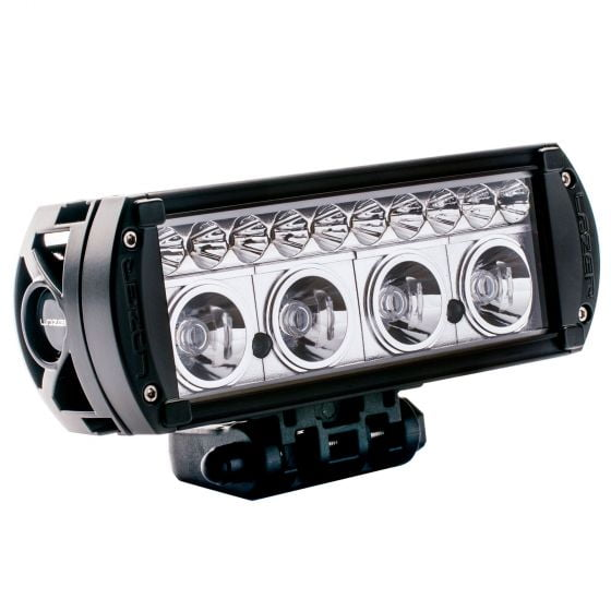 Lazer Lamps RS-4 LED Driving Lamps With Daytime Running Lights – Black