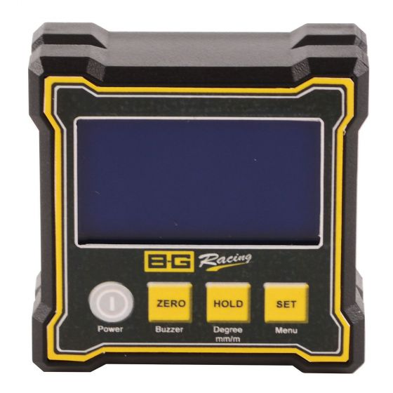 B-G Racing Digital Dual Axis Angle Gauge