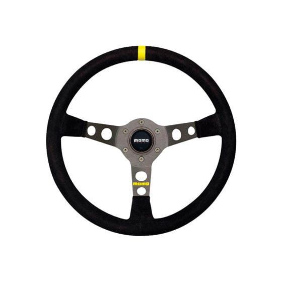 Momo Model 07 Steering Wheel – Black Leather – 350mm