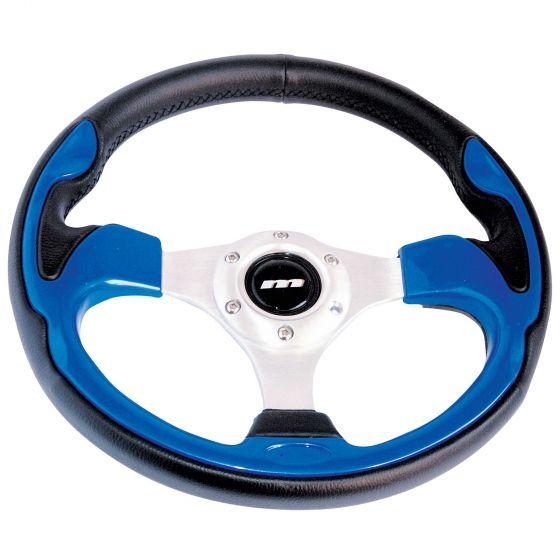 Mountney Sport Range Steering Wheel – Vinyl Rim Blue Inset