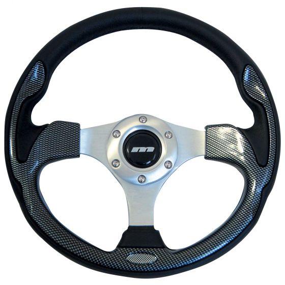 Mountney Sport Range Steering Wheel – Vinyl Rim Carbon Inset