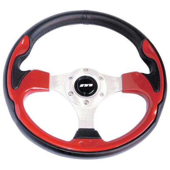 Mountney Sport Range Steering Wheel – Vinyl Rim Red Inset