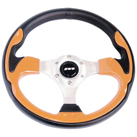 Mountney Sport Range Steering Wheel – Vinyl Rim Wood Inset