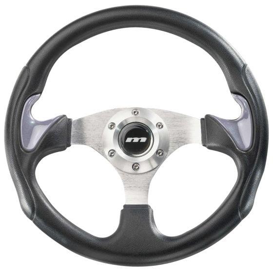 Mountney Sport 2 Range Steering Wheel – Vinyl Rim Silver Inset