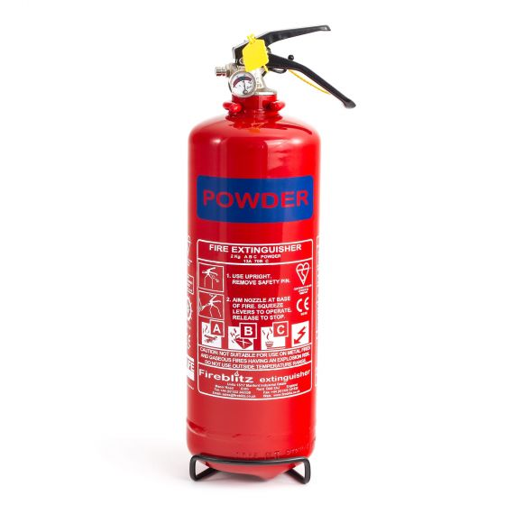 Demon Tweeks 2Kg Dry Powder Fire Extinguisher
