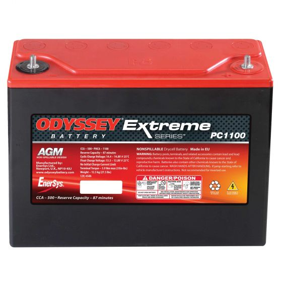 Odyssey Extreme Racing 40 Battery – PC1100