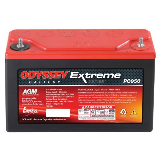 Odyssey Extreme Racing 30 Battery – PC950