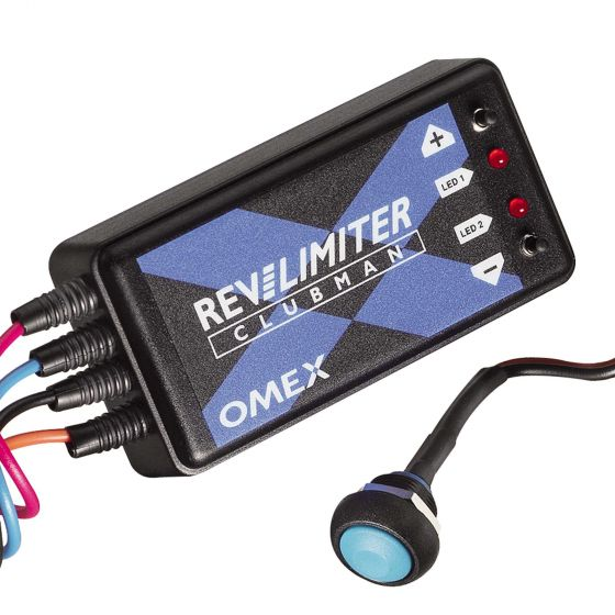 OMEX Clubman Rev Limiter With Launch Control – Twin Coil