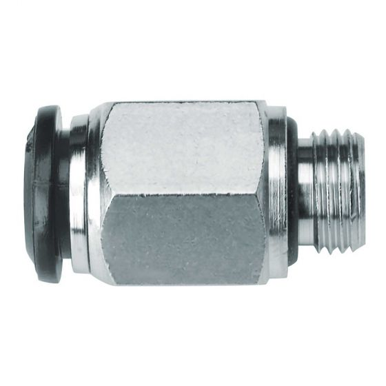 OMP Straight Connector 8mm For Platinum Extinguisher