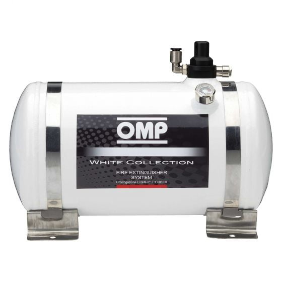 OMP White Collection Electrical Fire Extinguisher System – 4.25 Ltr
