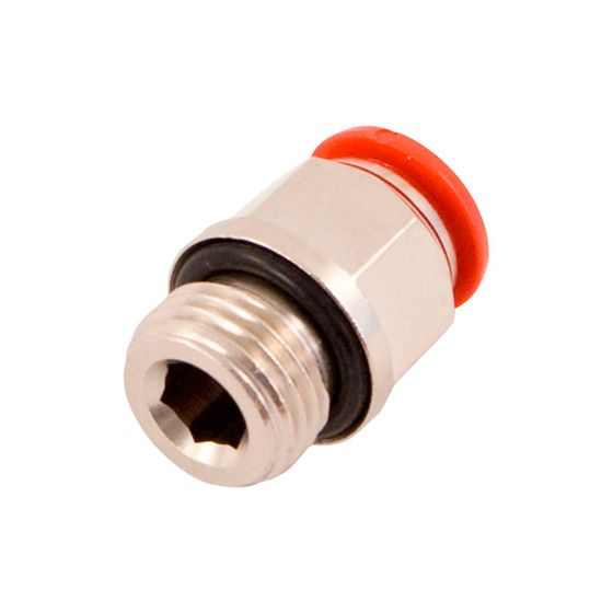 OMP Straight Nozzle Connector