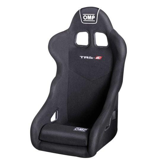 OMP TR-S Steel Frame Seat – XL Size Black, Black