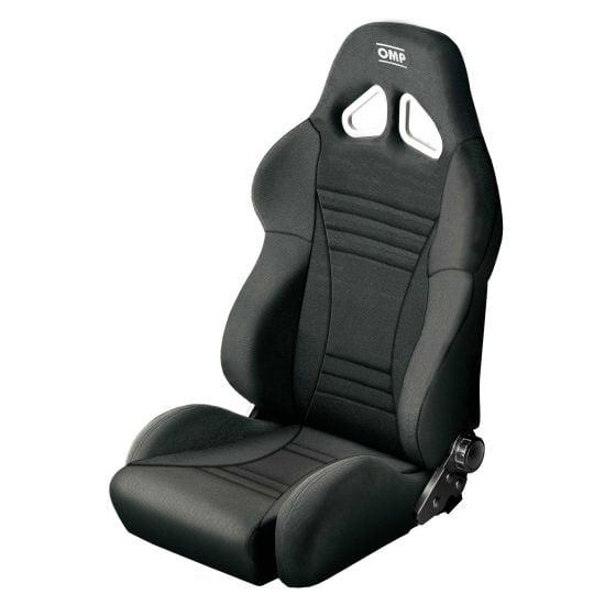OMP Strada Seat, Black,Grey