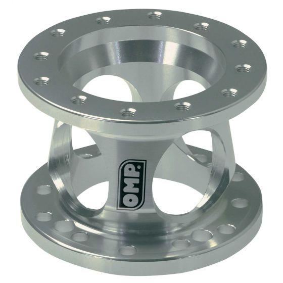 OMP Steering Wheel Spacer – 60mm Silver