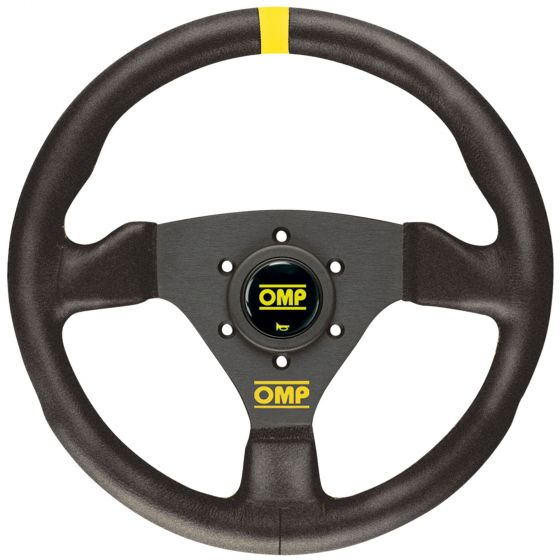 OMP Trecento Steering Wheel – Black Suede – 300mm