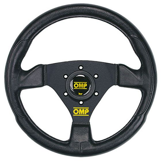 OMP Trecento Steering Wheel – Black Polyurethane – 300mm