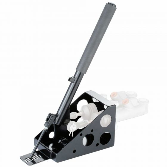 OBP Twin Cylinder Lockable Vertical Hydraulic Handbrake – Without Master Cylinders