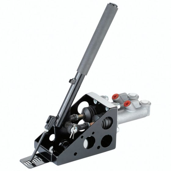 OBP Twin Cylinder Lockable Vertical Hydraulic Handbrake – With Master Cylinders