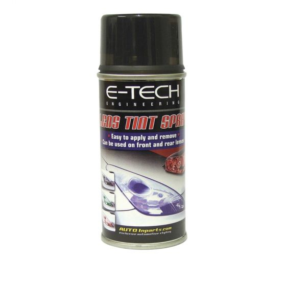 E-Tech Engineering Lens Tinting Spray – Smoke, Grey