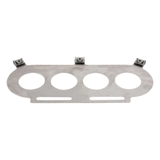 Pipercross PX500 Small Twin Carburettor Baseplate – Universal (Blank)