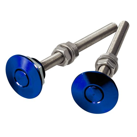 Pitking Products Quick Release Clip – Push Button Release – Blue, Blue
