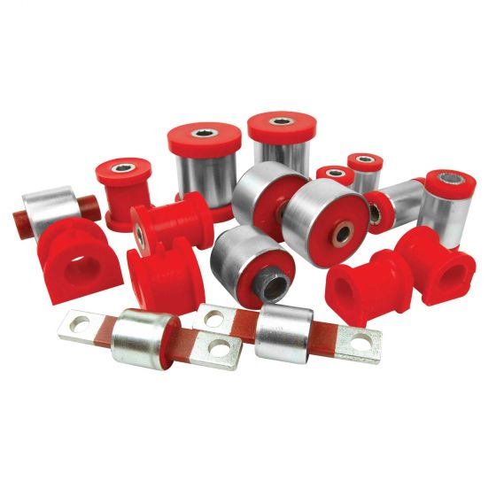 Polybush Rear Spring Rear Bush Car – Set Of 8 REF 3D – Red Performance