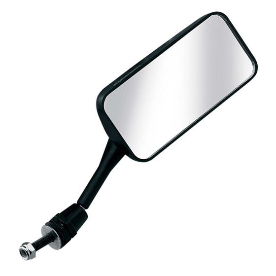 Racetech Single Seater Mirror – Convex Glass Right Hand Black