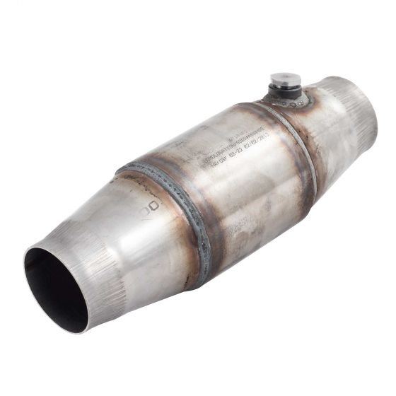 "Redback EU Approved Performance Catalytic Converter – 104mm OD Case 2 1/2"" (63.5mm) Inlet / Outlet"
