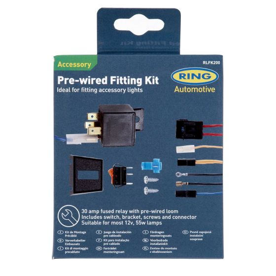 Ring Pre-Wired Accessory Lighting Fitting Kit