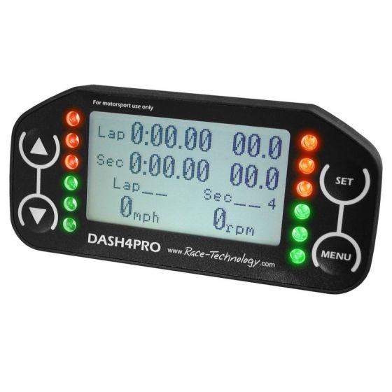 Race Technology Dash 4 Pro Digital Display – LCD Display Steering Wheel Mounting